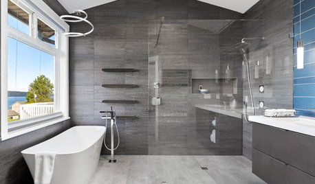 Bathroom of the Week: Modern Space With a Coastal View