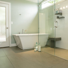 Modern Bathroom by Renovative Resource