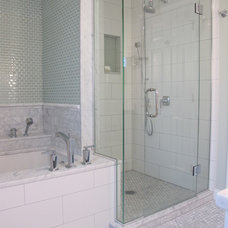 Traditional Bathroom by Sarah Goesling - Catalyst Remodeling