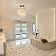 Transitional Bathroom by Abruzzo Kitchen & Bath