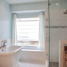 Modern Bathroom by DFW Improved