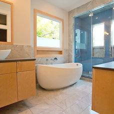 Contemporary Bathroom by Steven Allen Designs, LLC