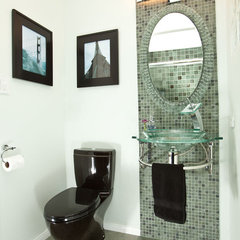 eclectic bathroom by One Week Bath, Inc.