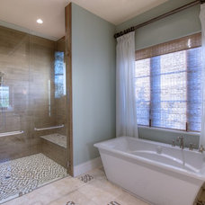 Contemporary Bathroom by Westwater Construction Inc.