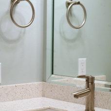 Modern Bathroom by Case Design & Remodeling Indy
