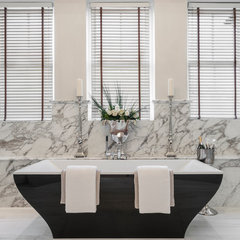 traditional bathroom by Alexander James Interiors