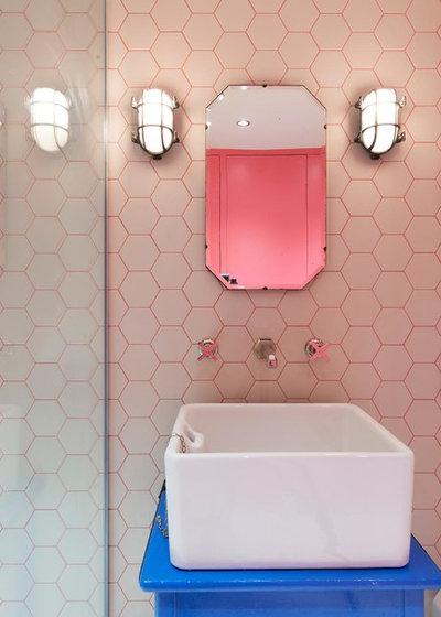 コンテンポラリー バスルーム by Alexander Owen Architecture
