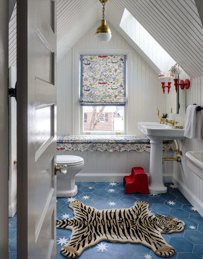Traditional Bathroom by Overmyer Architects