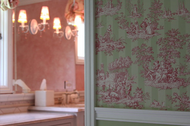 Traditional Bathroom by Reaume Construction & Design