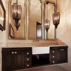 Contemporary Bathroom by Lee Douglas Interiors