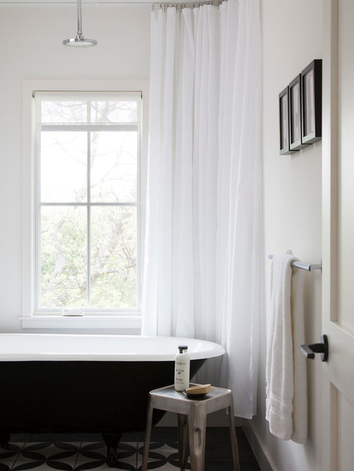 Ceiling Hung Curtain Ideas, Pictures, Remodel and Decor
