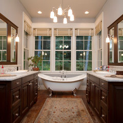 traditional bathroom by BlueStone Construction, LLC