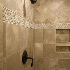 mediterranean bathroom by The Berry Group