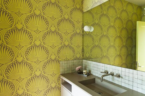 Contemporary Bathroom by Natasha Barrault Design