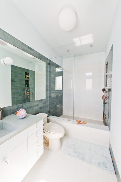 Contemporary Bathroom by Natasha Barrault Design