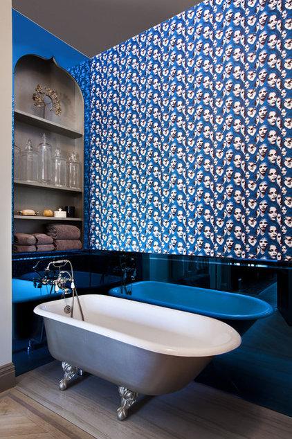 Eclectic Bathroom by JP Warren Interiors