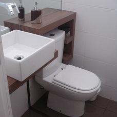 Contemporary Bathroom by SB Design Studio