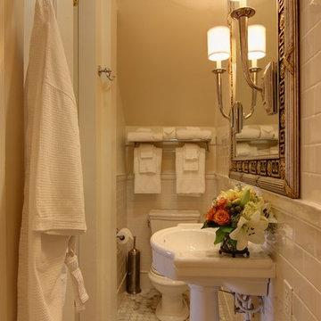 Closet to Bathroom Conversion