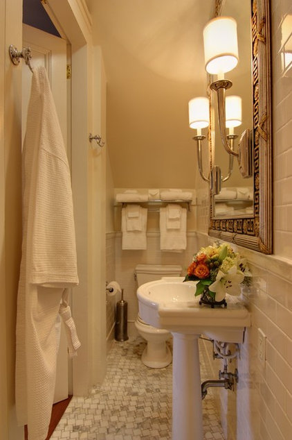 traditional bathroom by Nelson Wilson Interiors
