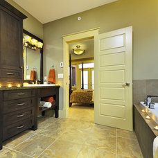 Contemporary Bathroom by Greystokes Millwork Ltd.