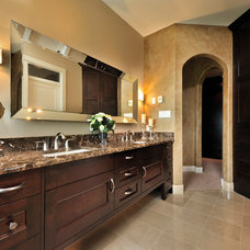 Traditional Bathroom by Greystokes Millwork Ltd.