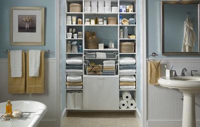 Orden en el baño: 9 consejos para optimizar su capacidad de almacenaje