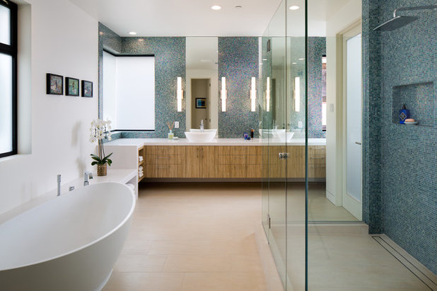 Great Contemporary Bathroom by Oasis Architecture u Design