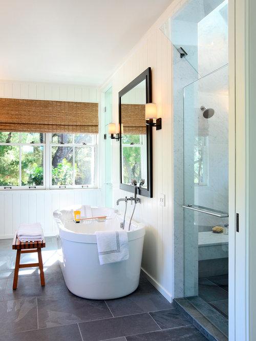Best San Luis Obispo Slate Floor Bathroom Pictures San Luis - Bathroom remodel san luis obispo