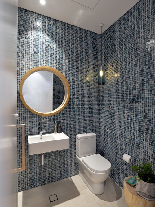 Inspiration for a contemporary bathroom in sydney