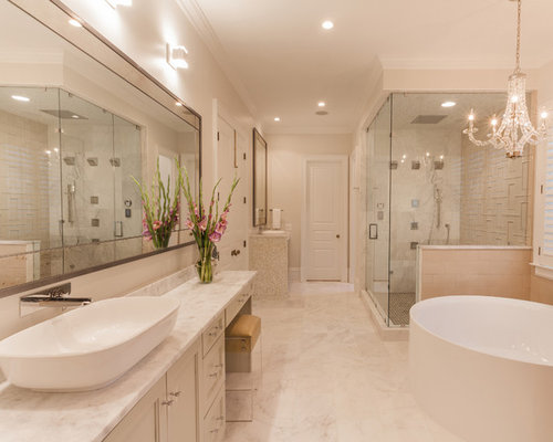 Medium sized ensuite bathroom design ideas renovations for Bathroom ideas medium