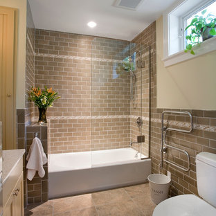 Exceptional Tub/shower Combo   Contemporary Tub/shower Combo Idea In DC Metro