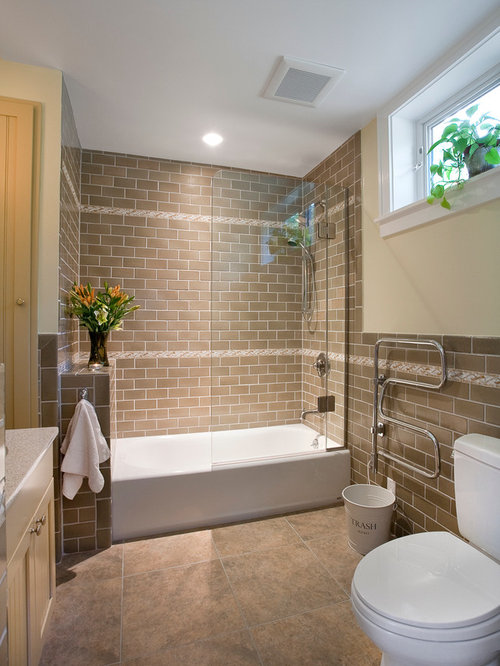 Master bath shower contemporary bathroom san francisco by - Low Profile Tub Houzz