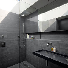Contemporary Bathroom by Andrew Mulroy Architects Ltd