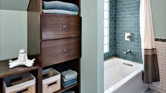 CN Design Small bathroom in 1920s era home