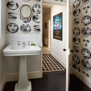 Example of an ornate bathroom design in London