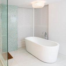 Contemporary Bathroom by Andrea Rodman Interiors