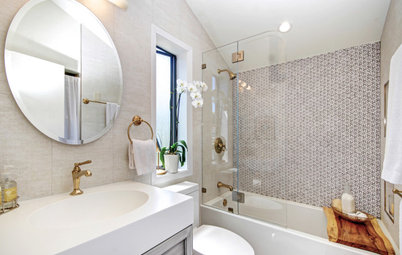Great Home Project: Say Goodbye to the Shower Curtain