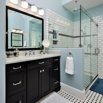 Coastal Bathroom and Closet Renovation