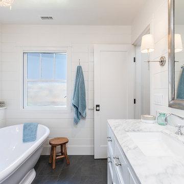 Coastal Bathroom Remodel
