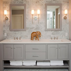 beach style bathroom by REFINED LLC