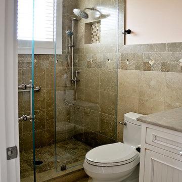 Coastal Contemporary Bathrooms