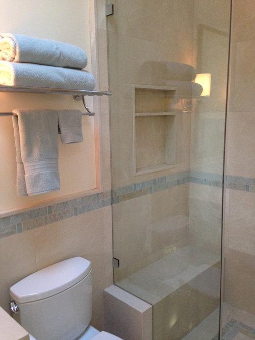 Small beach style bathroom design ideas renovations photos for Small beach bathroom designs