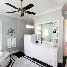 Traditional Bathroom by Clausen Residential