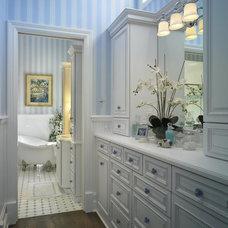 Beach Style Bathroom by Mary Washer Designs