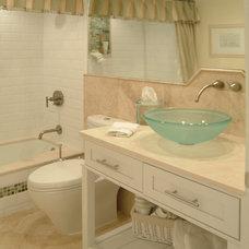 Traditional Bathroom by Antoinette Unique Interiors, Inc