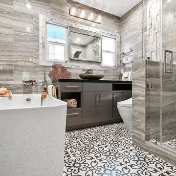 Coastal Inspired Bathroom Remodel in Atwater Village