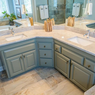 Coastal Rustic Wild Woods Kitchen & Bathroom Remodel