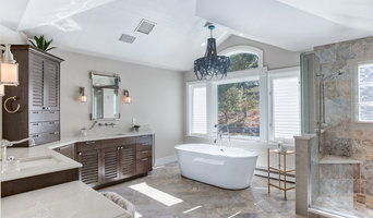 Coastal Themed Master Bath