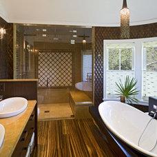 Bathroom by Dewson Construction Company