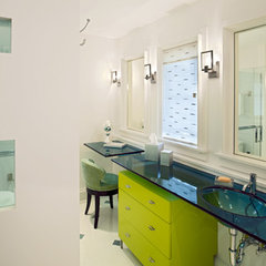 bathroom by Dewson Construction Company